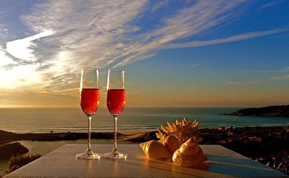 Vinhos de verão em Praia do Rosa
